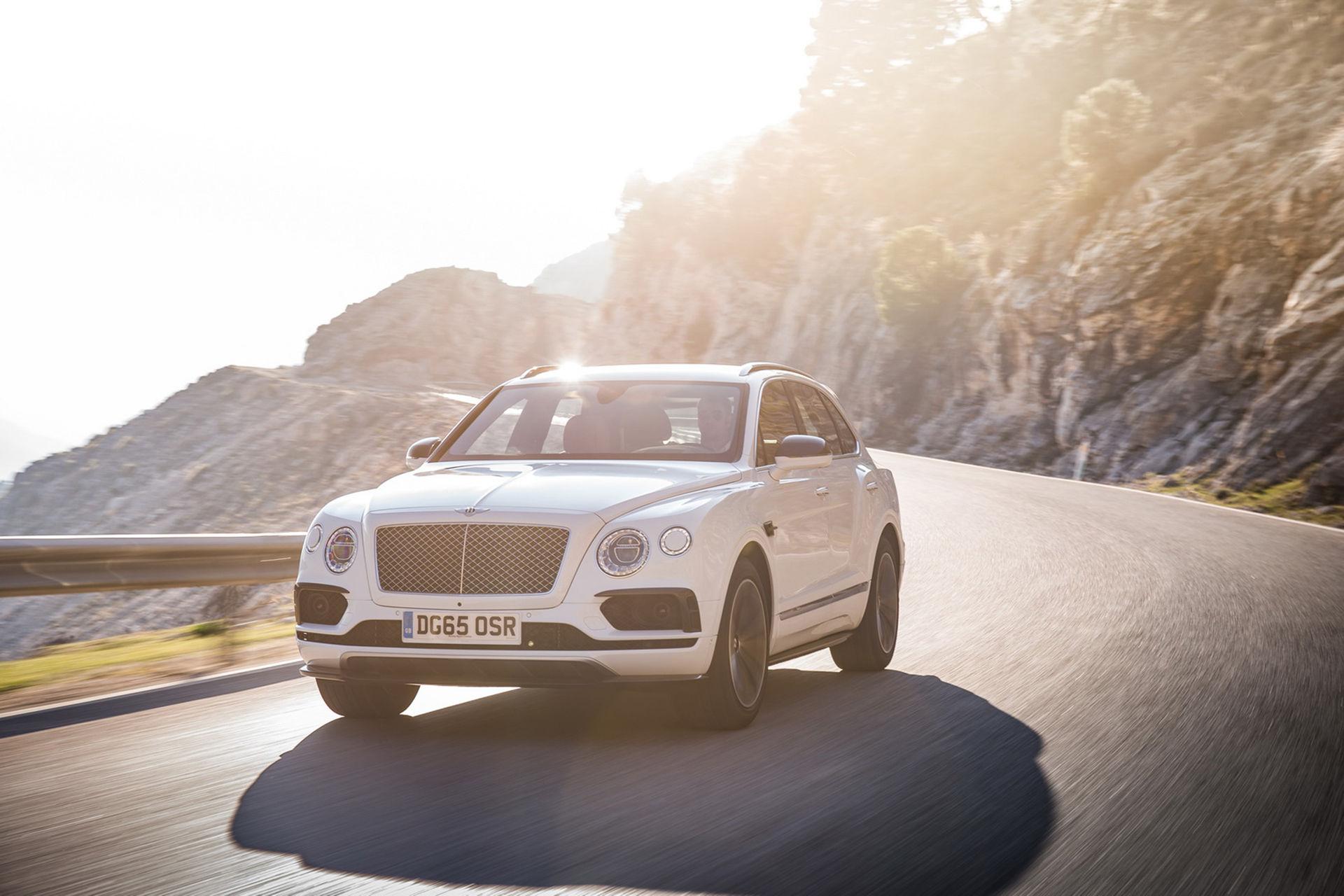 Bentley Bentayga Speed får 650 hästar