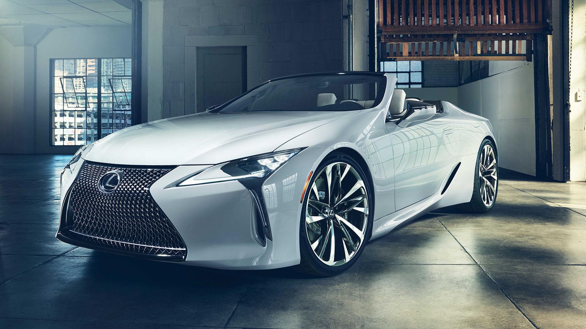 Lexus LC nu även som cabriolet