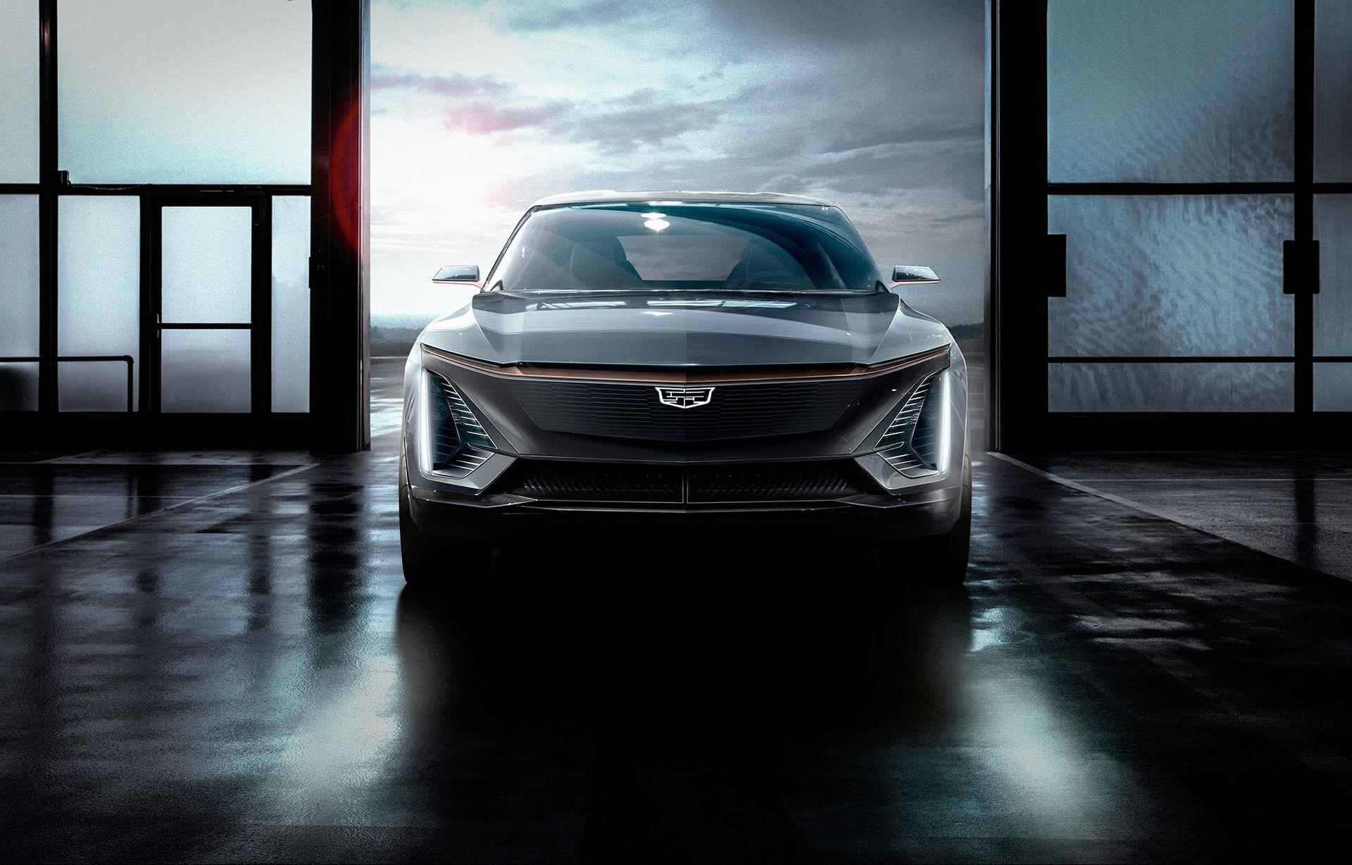 Det här är Cadillacs första elbil