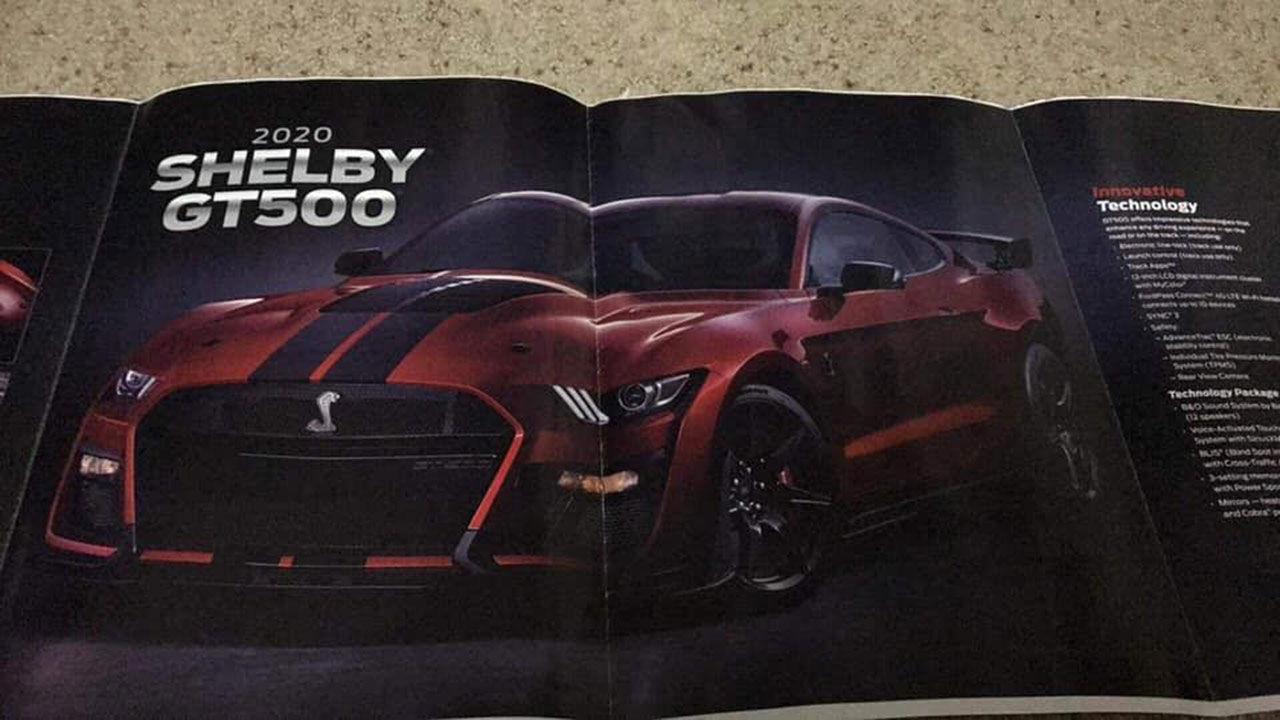 Nya Mustang Shelby GT500 läcker ut - igen