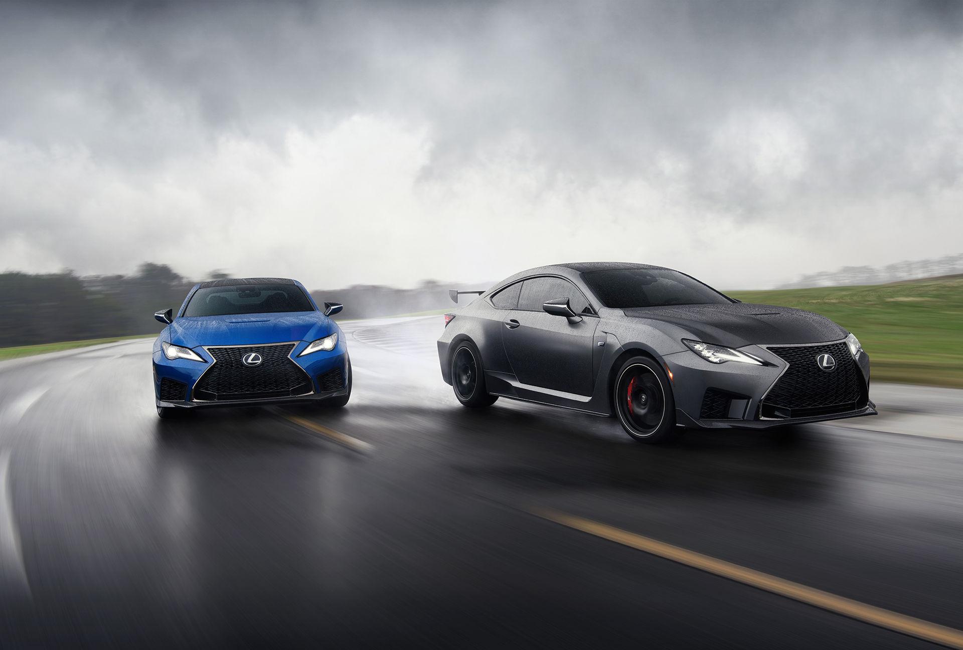 Lexus rullar ut uppdaterad RC F och RC F Track Edition