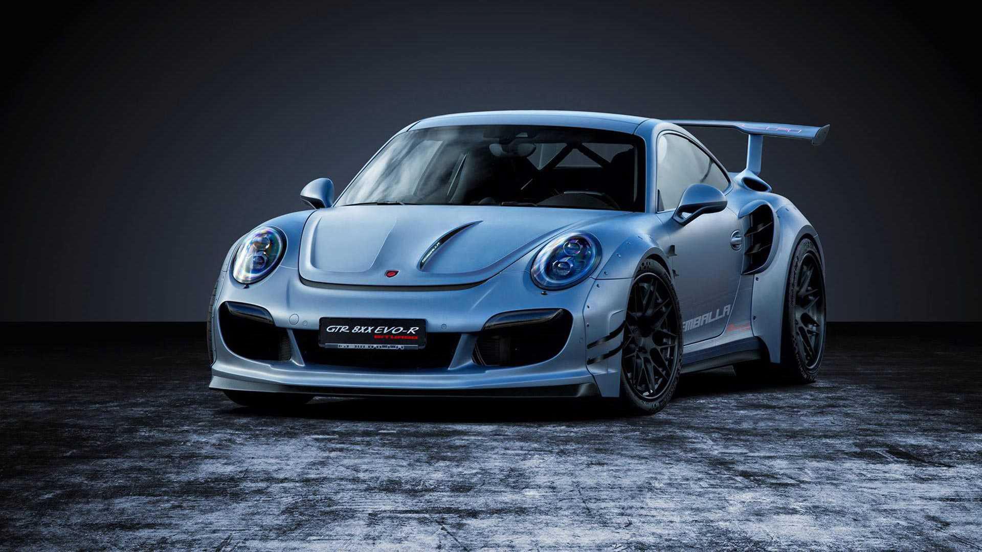 Urballad Porsche 911 Turbo från Gemballa