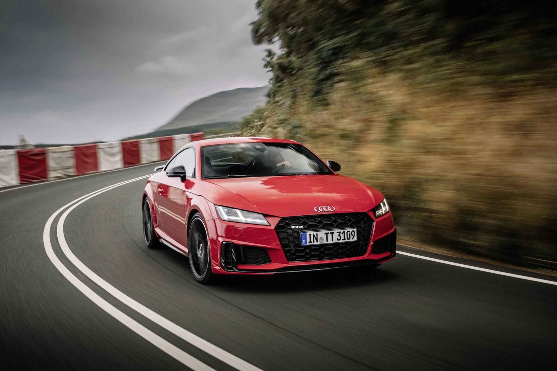 Audi presenterar Competition-version av nya TTS