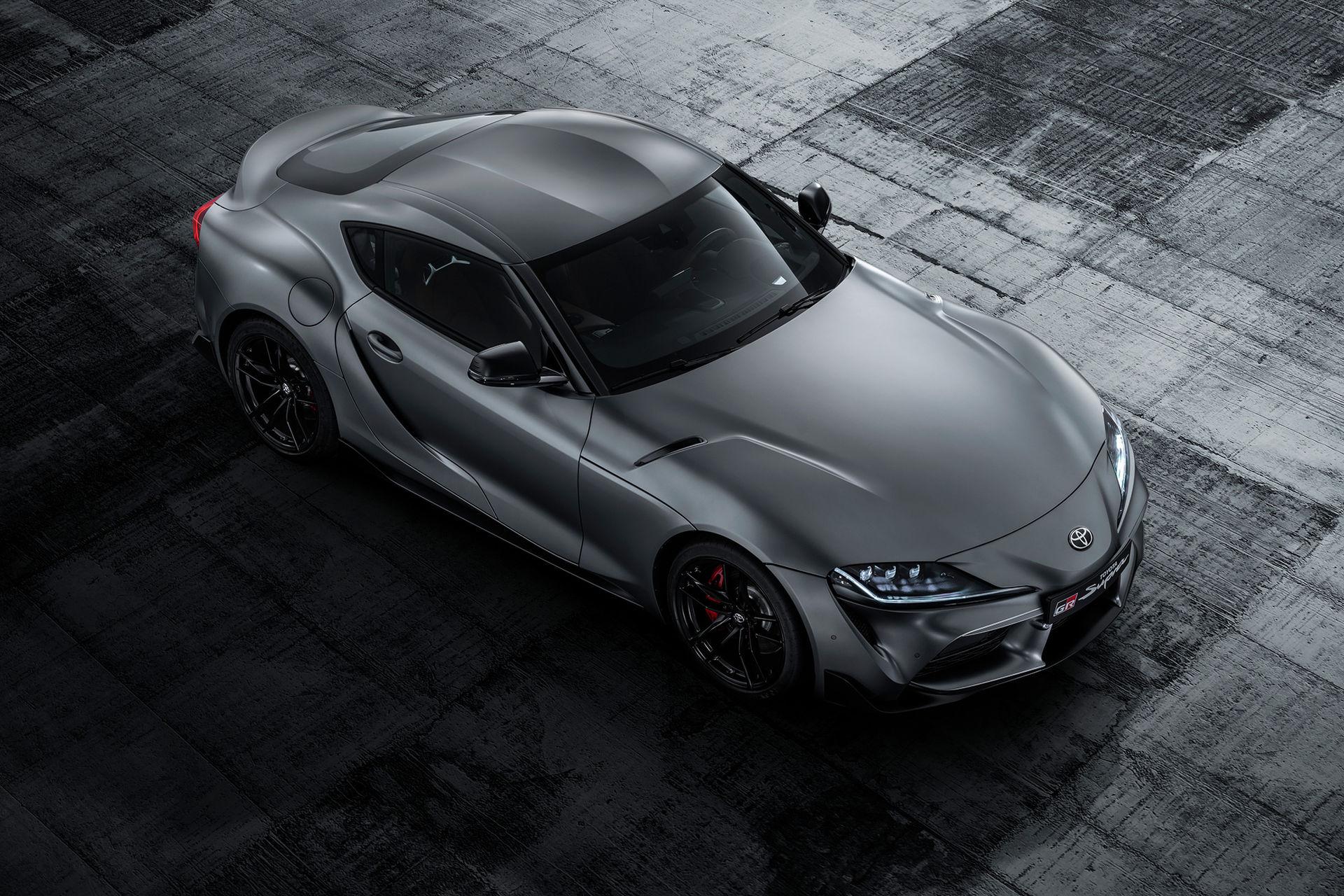 Nu är den här på riktigt - nya Toyota Supra