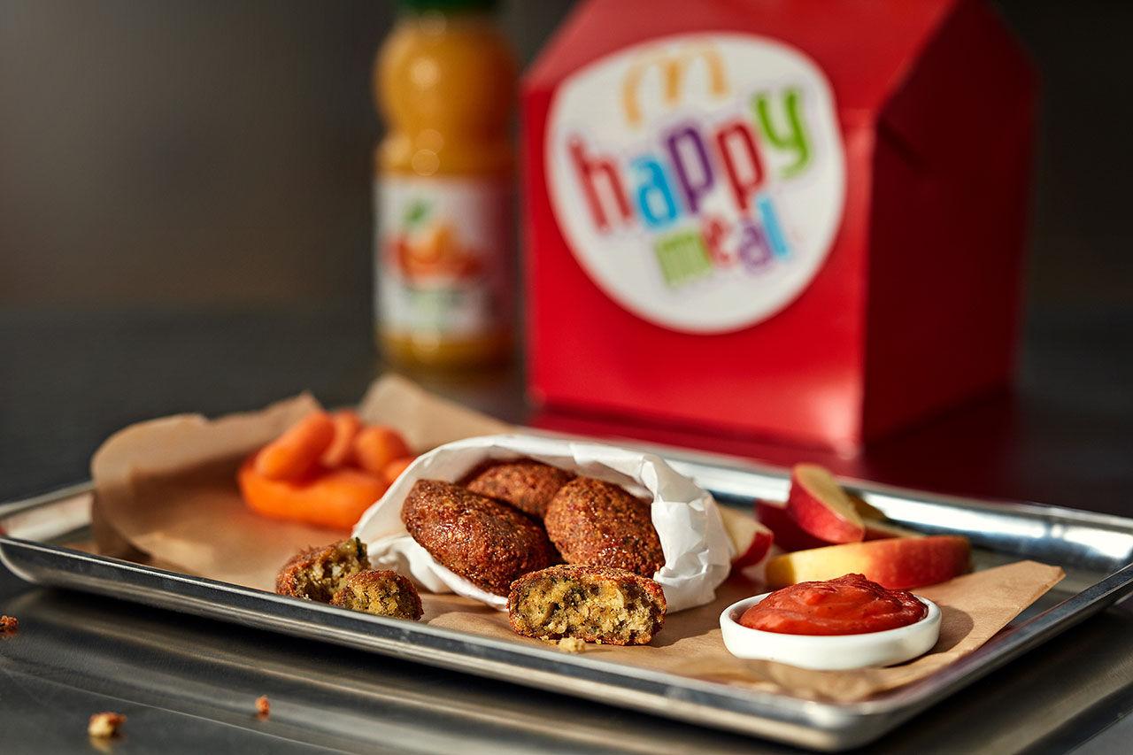 Happy Meal i Sverige får veganskt alternativ