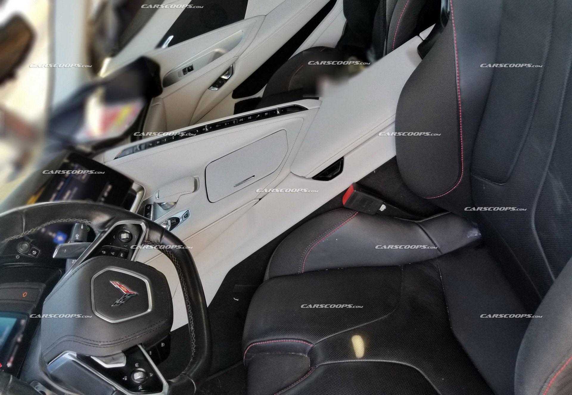 Insidan på nya Corvette läcker ut