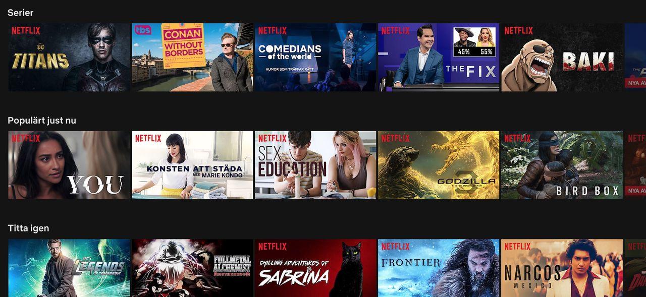 Netflix höjer sina priser i USA