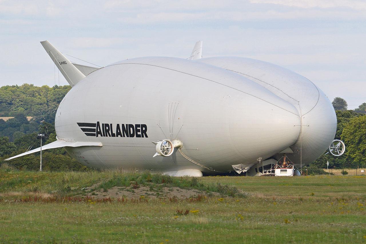 Serietillverkning av luftskeppet Airlander 10 drar igång