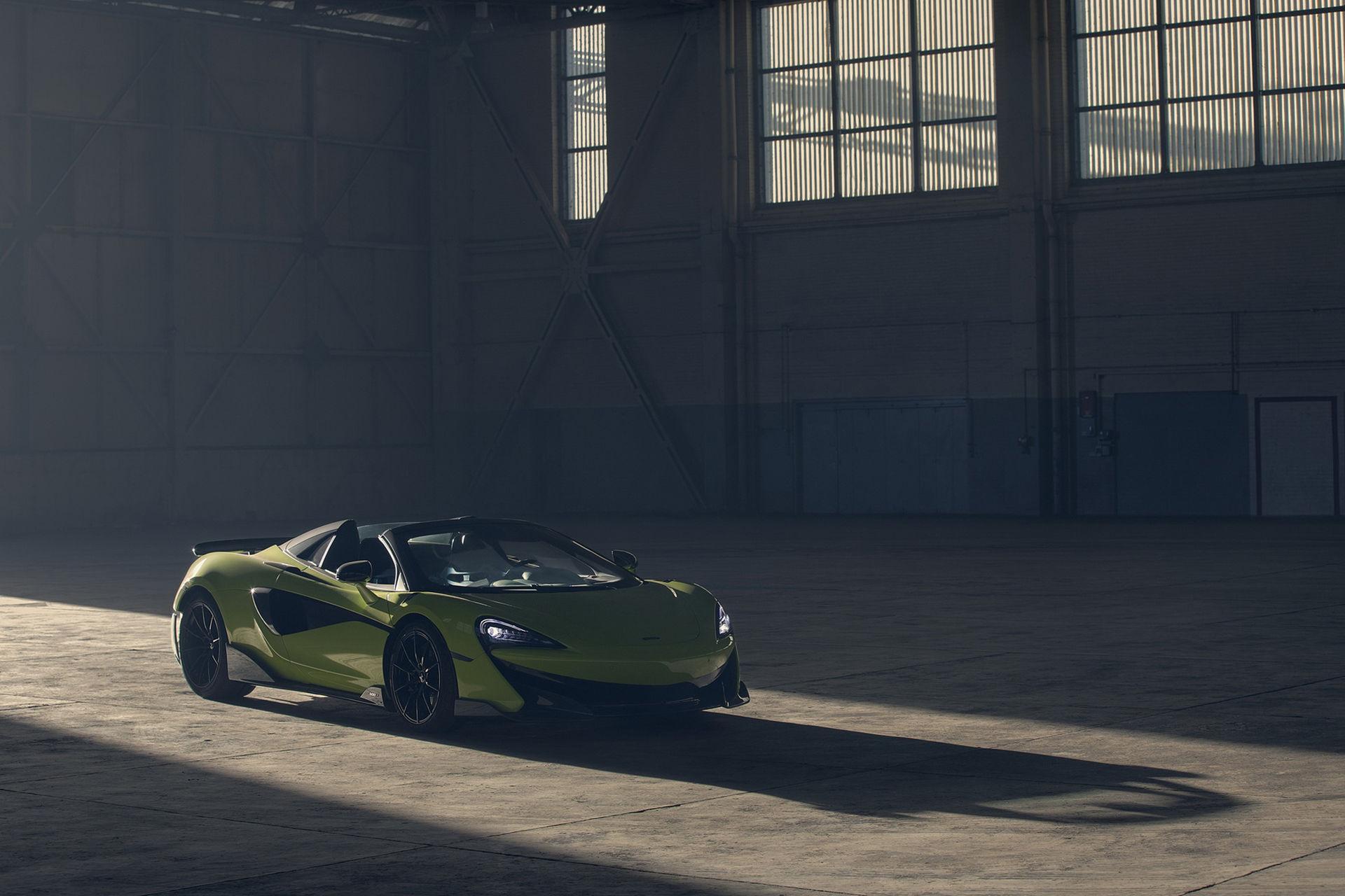Nu finns det även en cab-version av McLaren 600LT