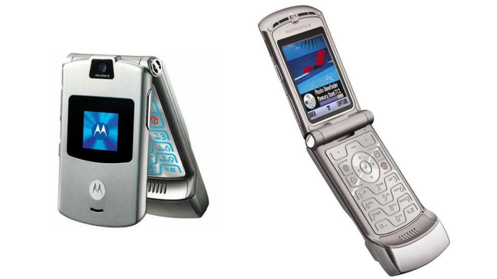 Legendariska Motorola RAZR verkar göra comeback!