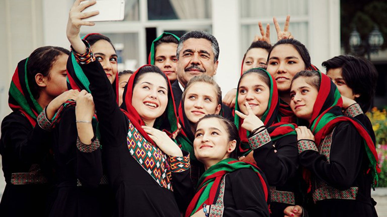 Afghansk kvinnlig orkester till Berwaldhallen