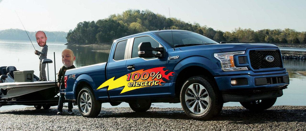 Fords F-Serie ska elektrifieras