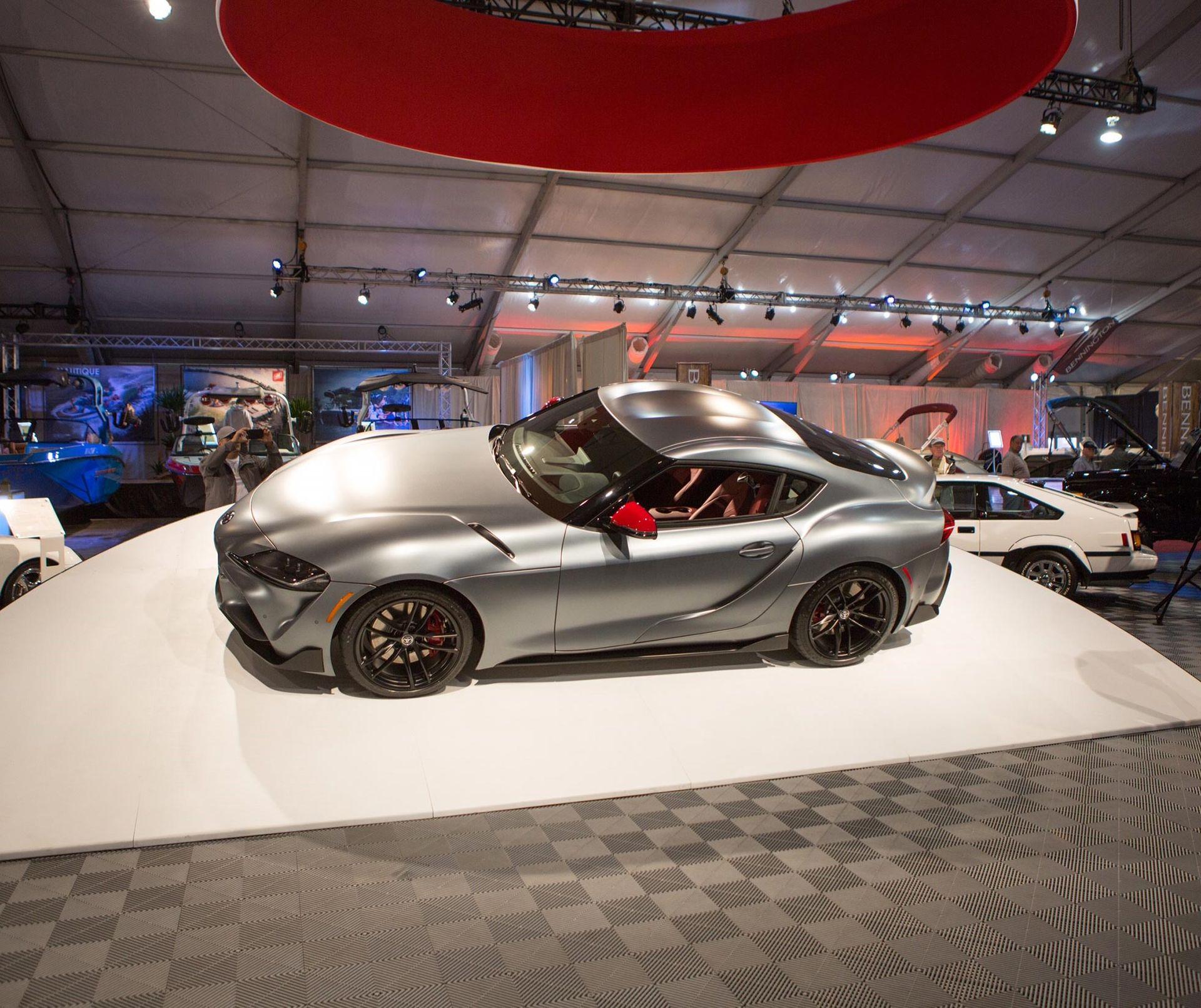 Första Toyota Supran såldes för 2,1 miljoner