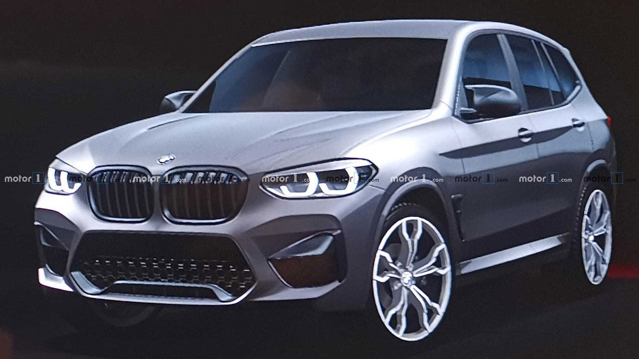 Nya BMW X3 M läcker ut
