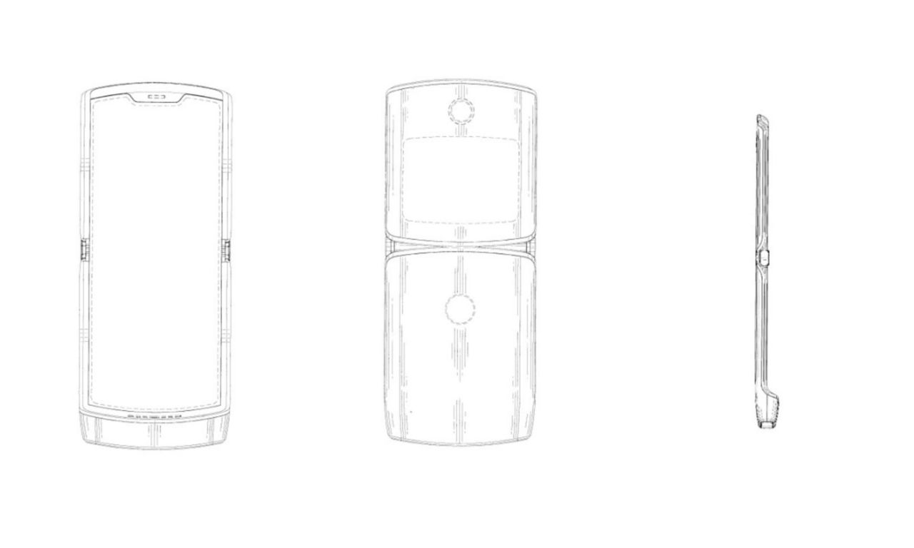 Motorola-patent hintar om RAZR-design