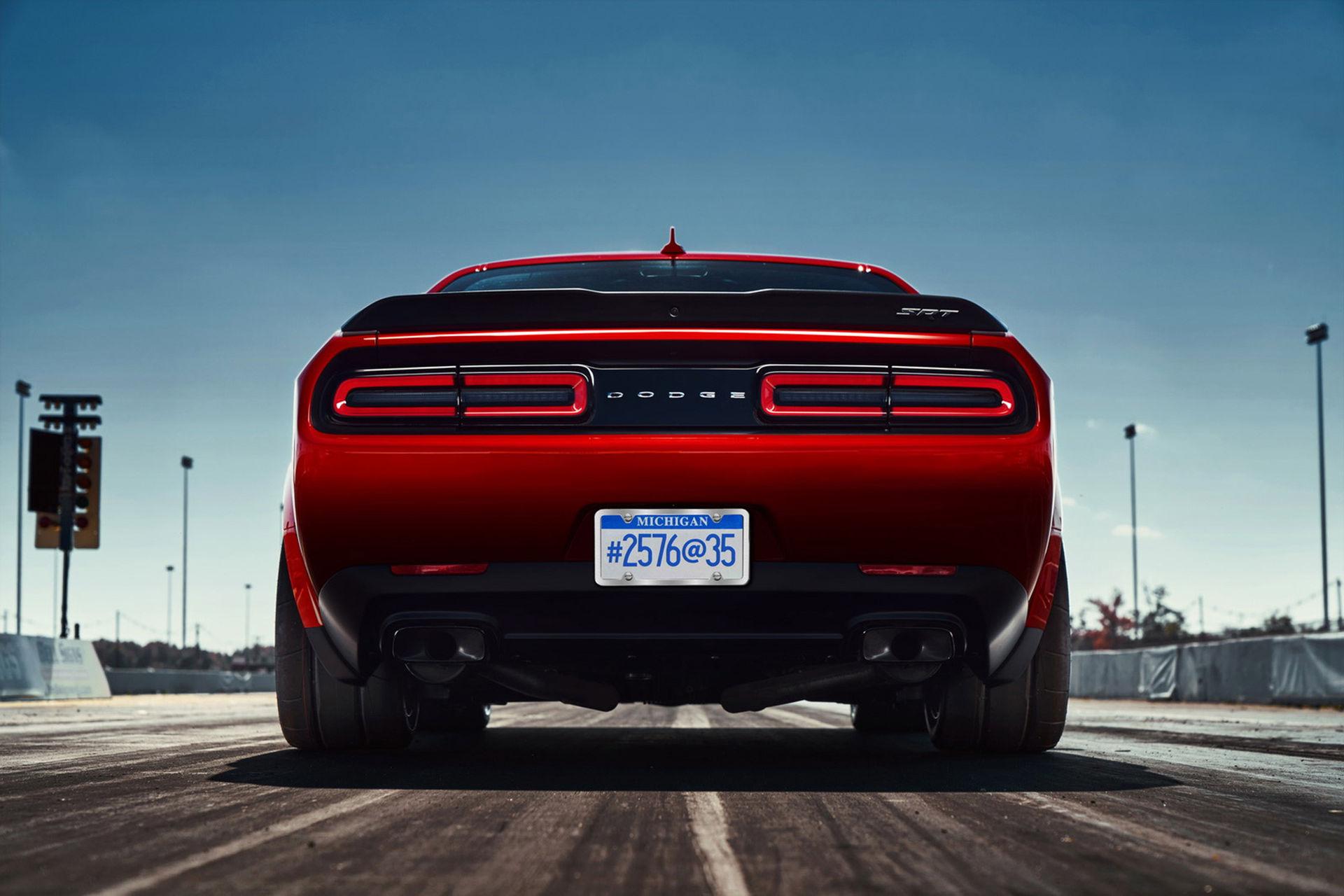 Nästa Dodge Challenger elektrifieras