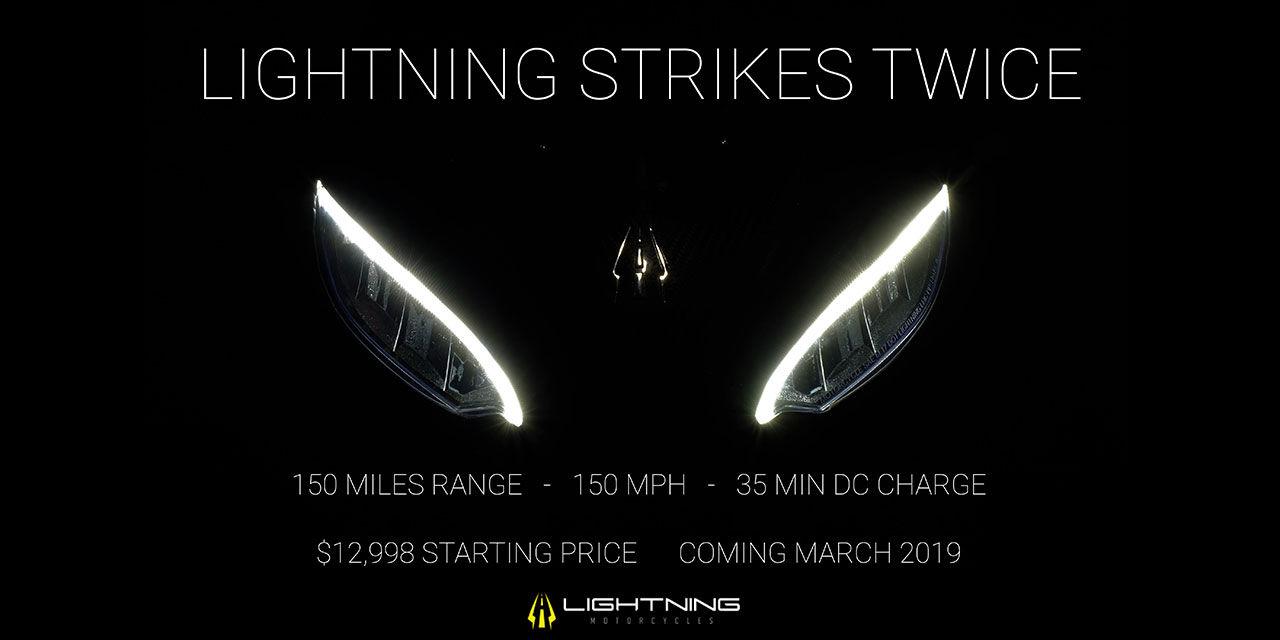 Lightning Motorcycles har ny eldriven hoj på gång