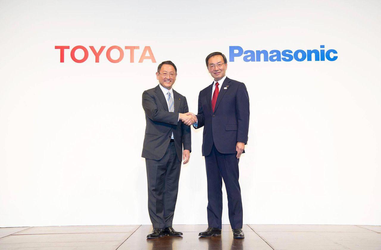 Toyota och Panasonic startar gemensamt batteribolag