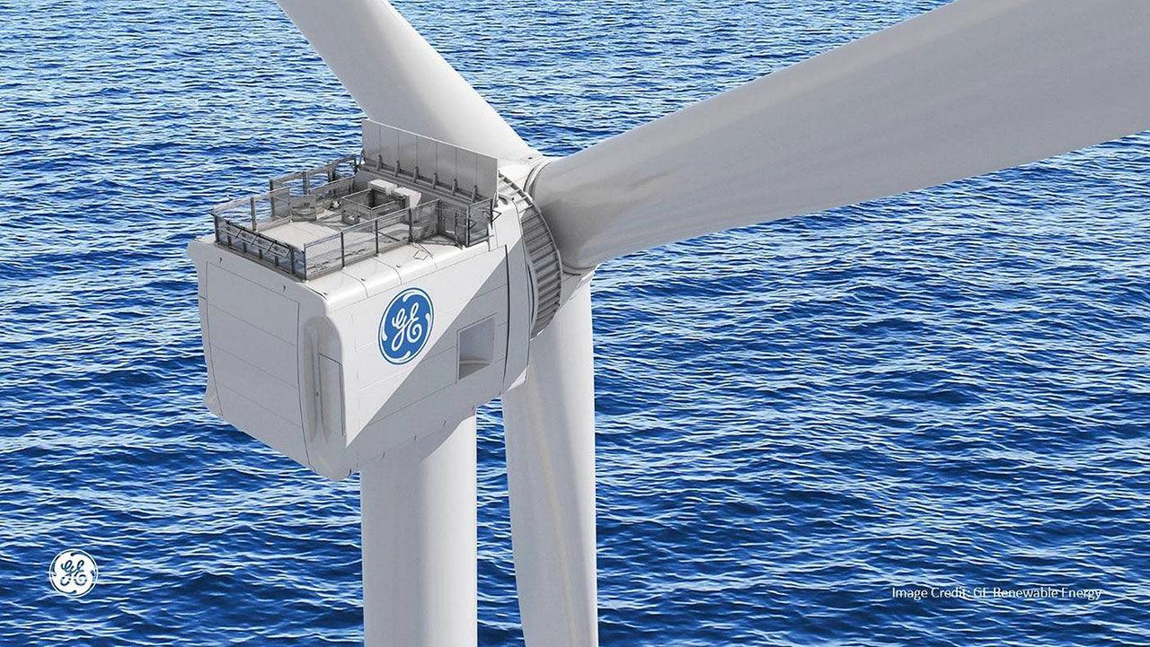 I sommar börjar GE bygga världens största vindkraftverk