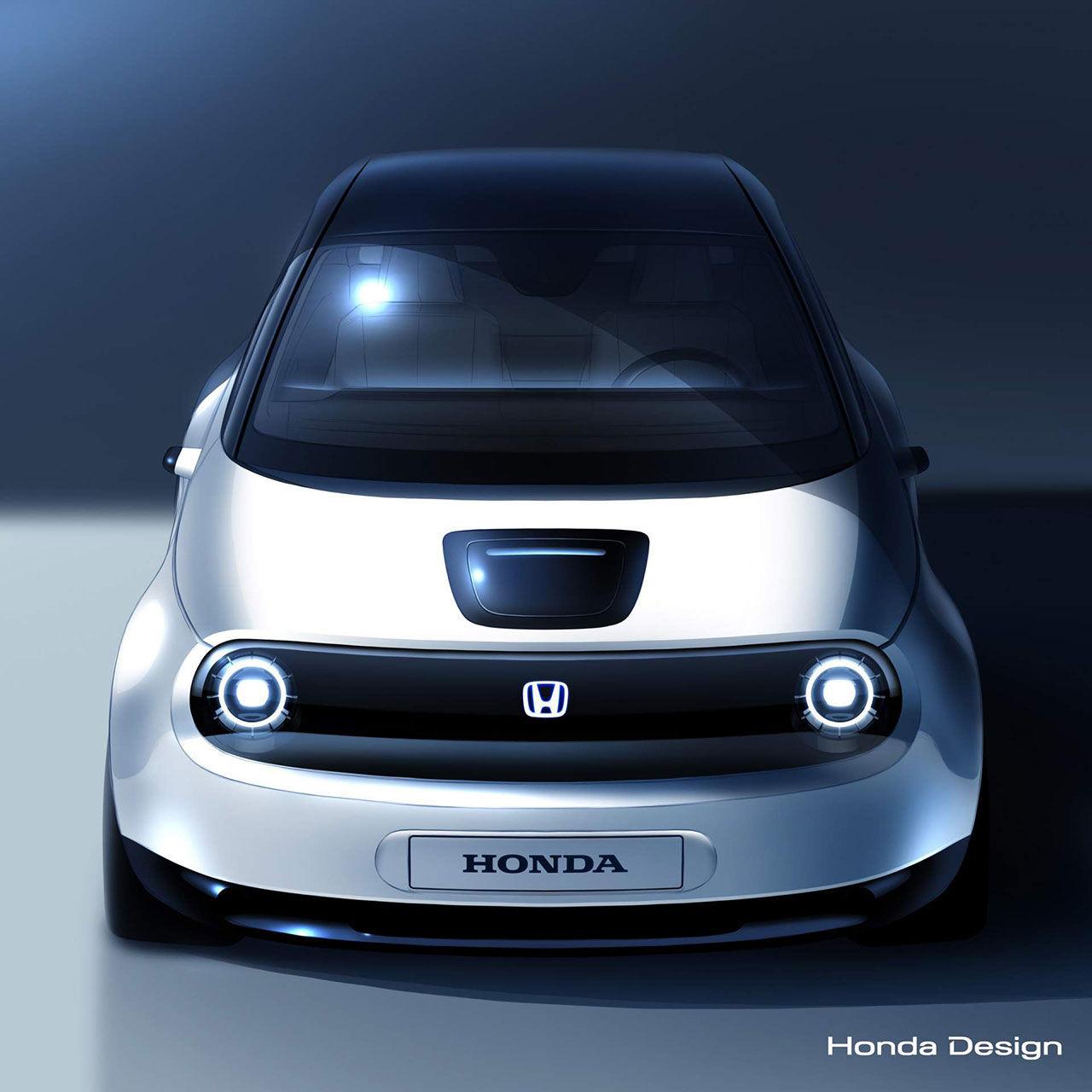 Prototyp av Hondas elbil kommer till Genève