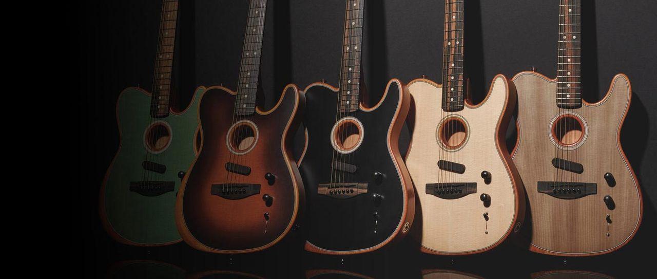 Fender har gjort en akustisk elgitarr