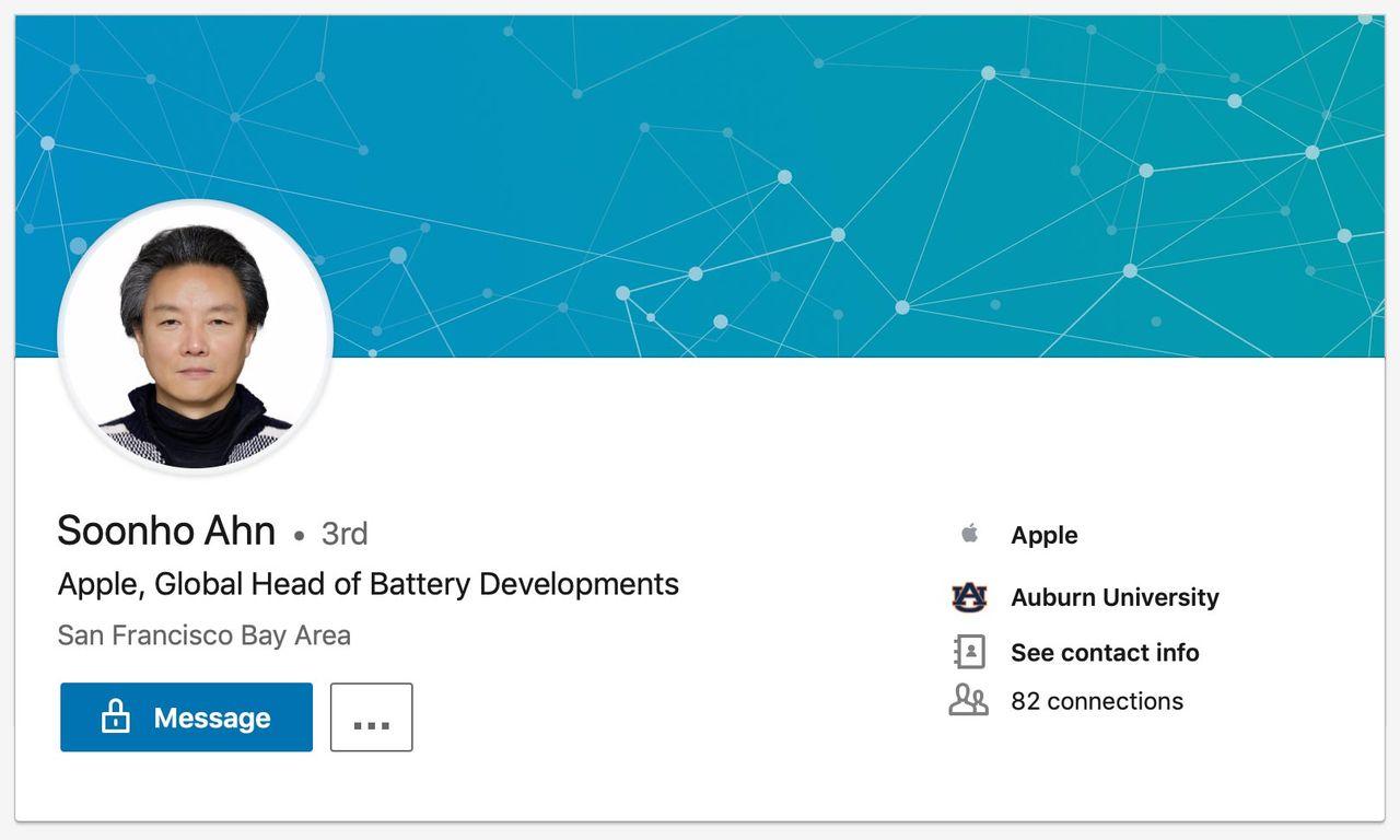 Apple anställer batterichef från Samsung