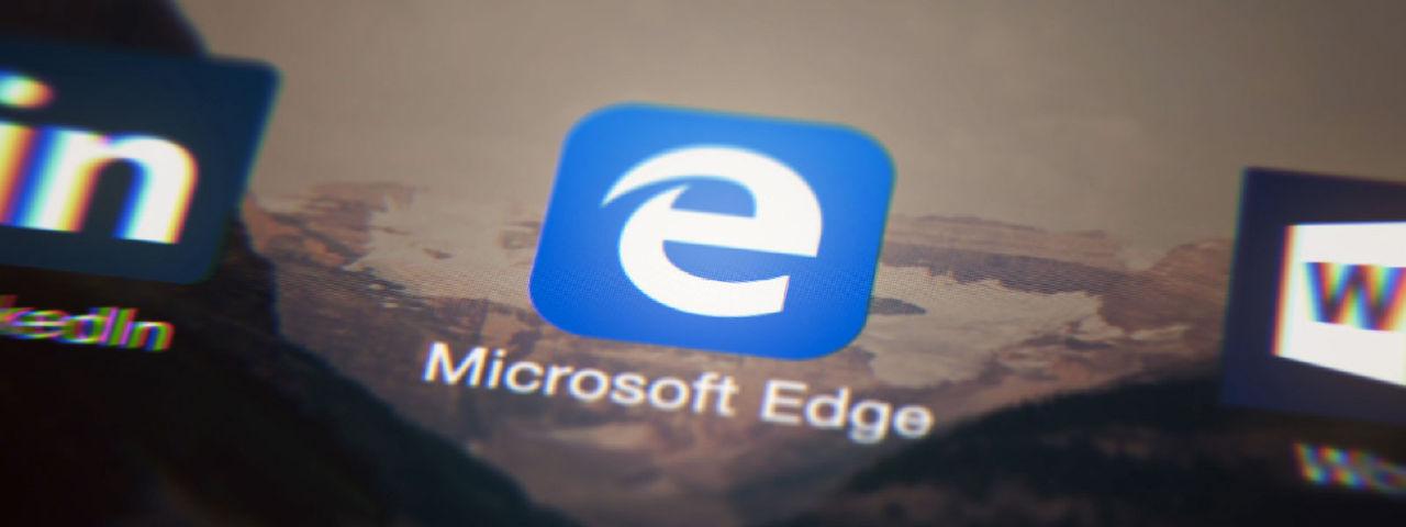 Microsoft Edge till mobiler börjar märka fake news