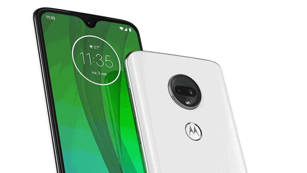 Motorola läcker nya Moto G7-enheter