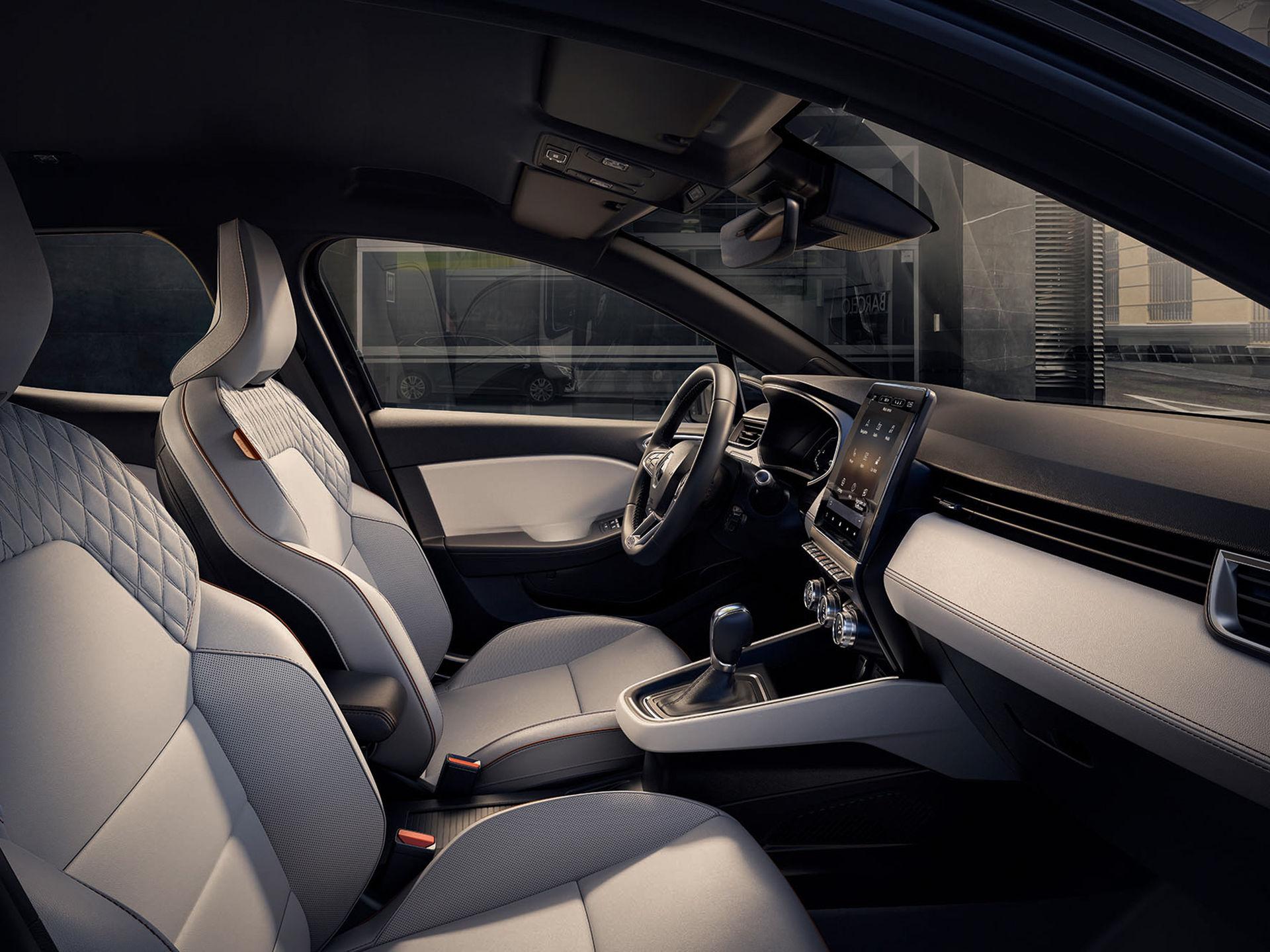 Renault visar insidan på nya Clio