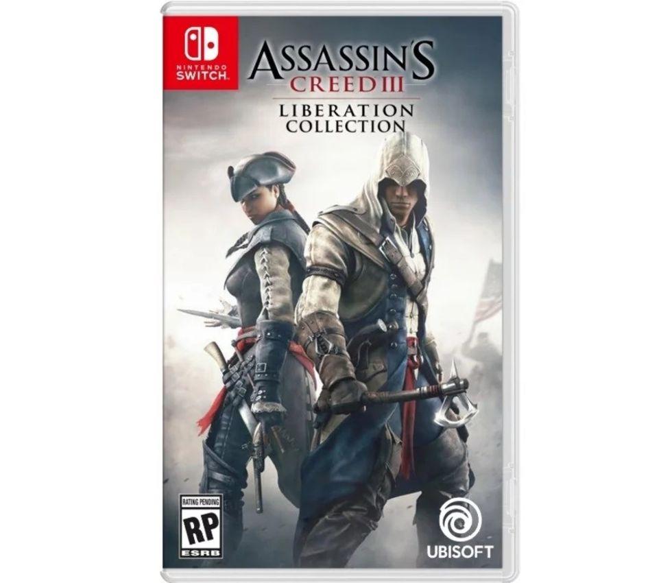 Assassin's Creed 3 verkar vara på ingång till Switch