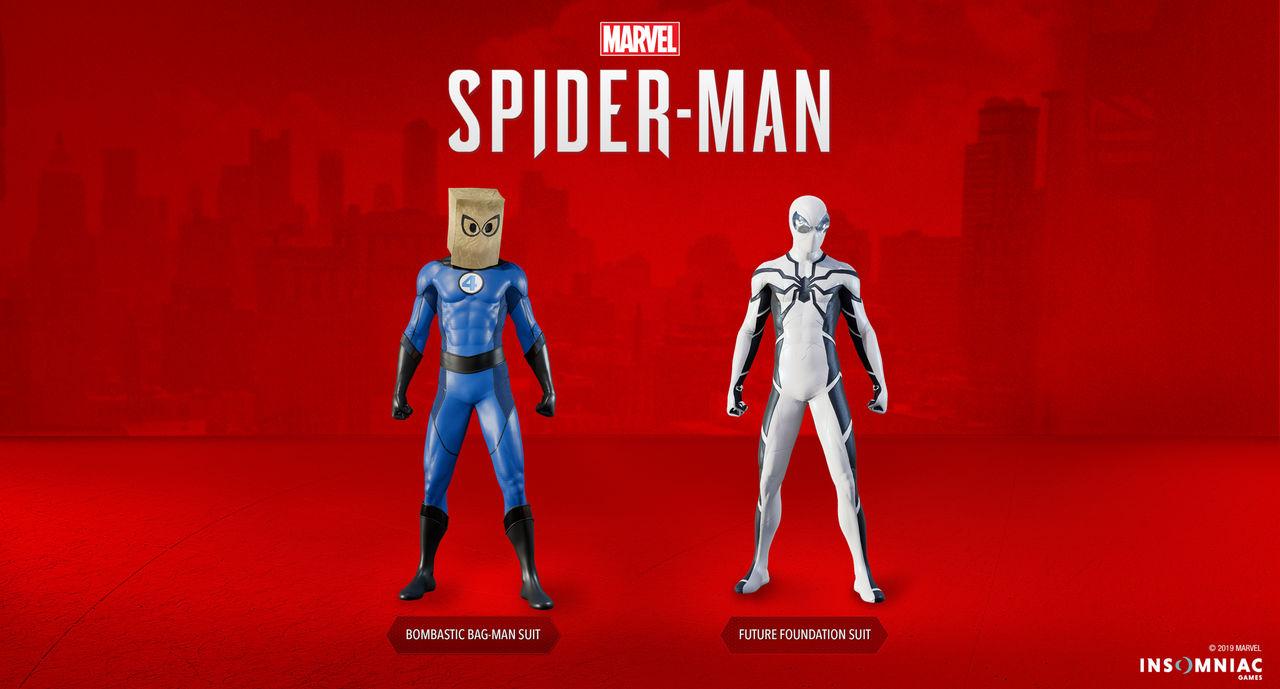 Nya dräkter släpps till Marvel's Spider-Man idag