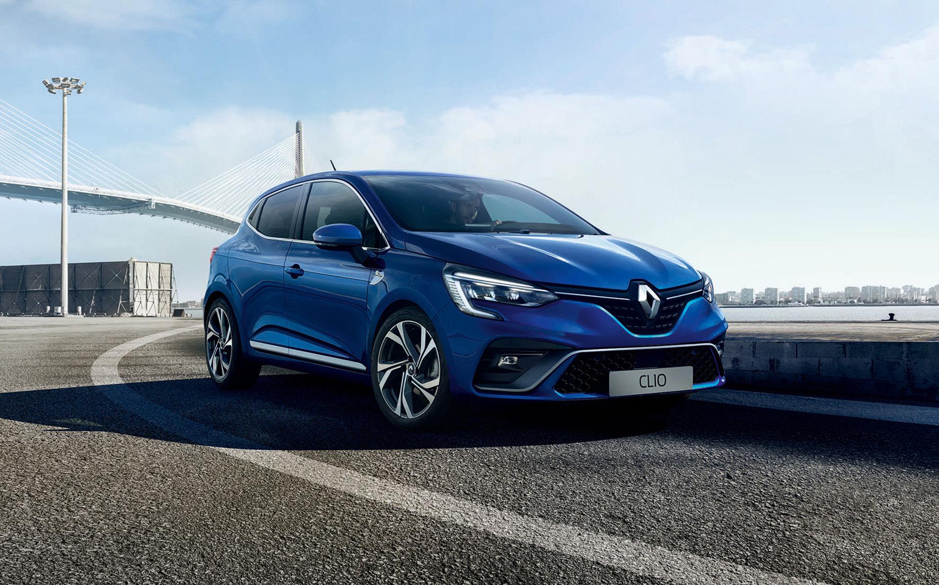 Det här är utsidan på nya Renault Clio