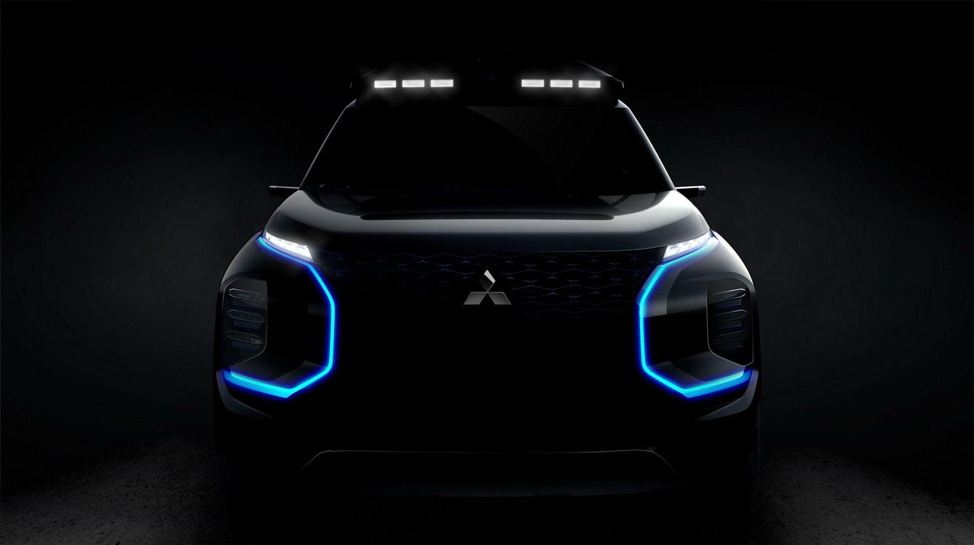 Engelberg - nytt SUV-koncept från Mitsubishi