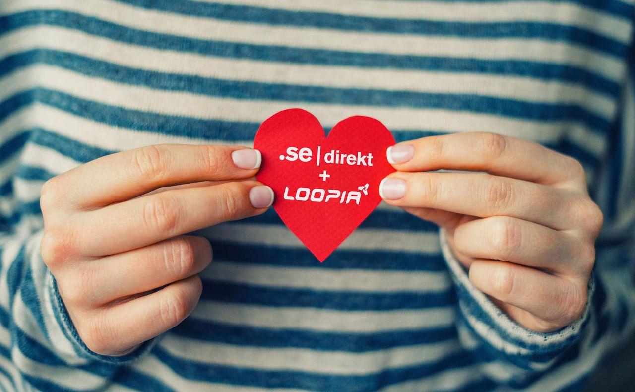 Loopia köper .SE Direkt av Internetstiftelsen