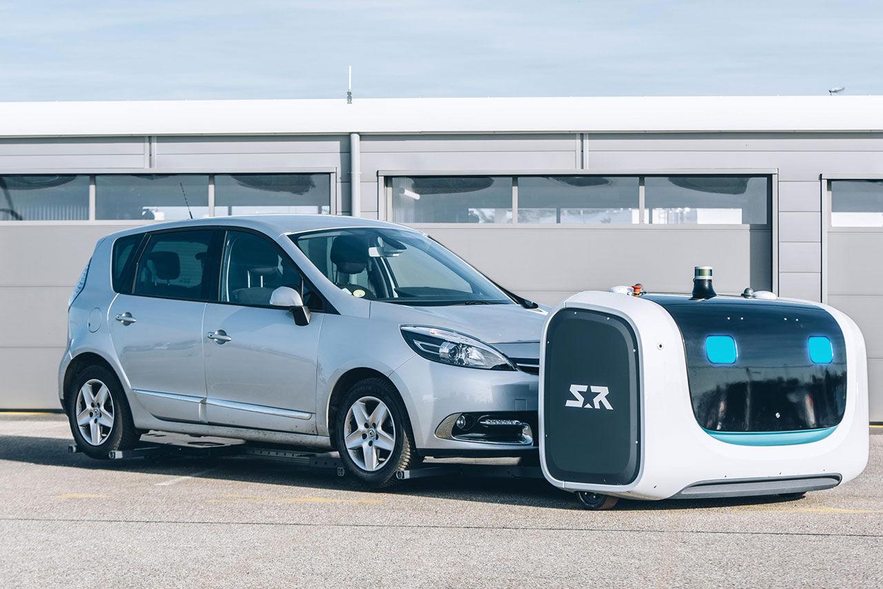 Flygplatsen Gatwick ska börja testa robot som parkerar bilar