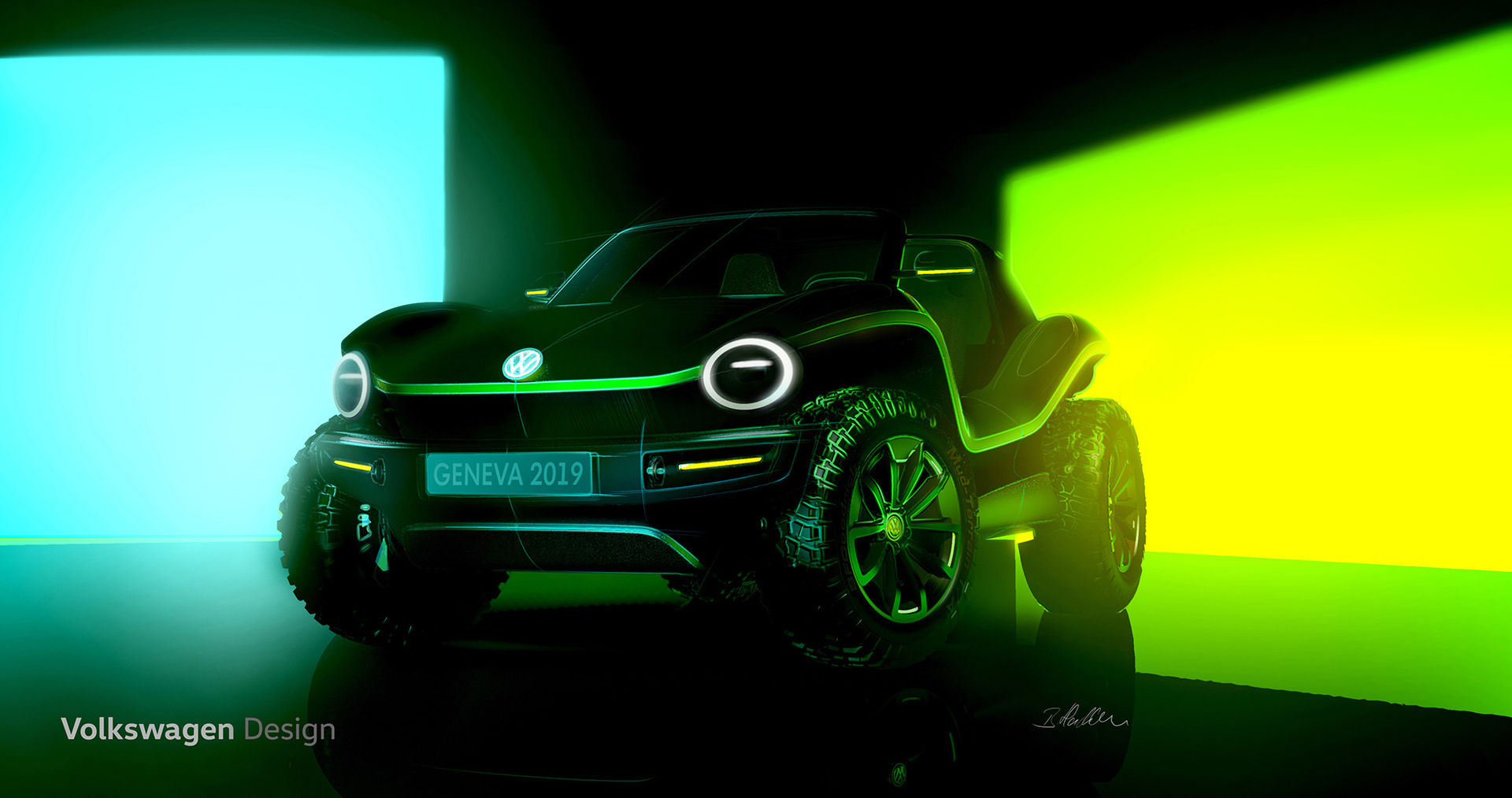 Volkswagen gör modern tolkning av Beach Buggyn