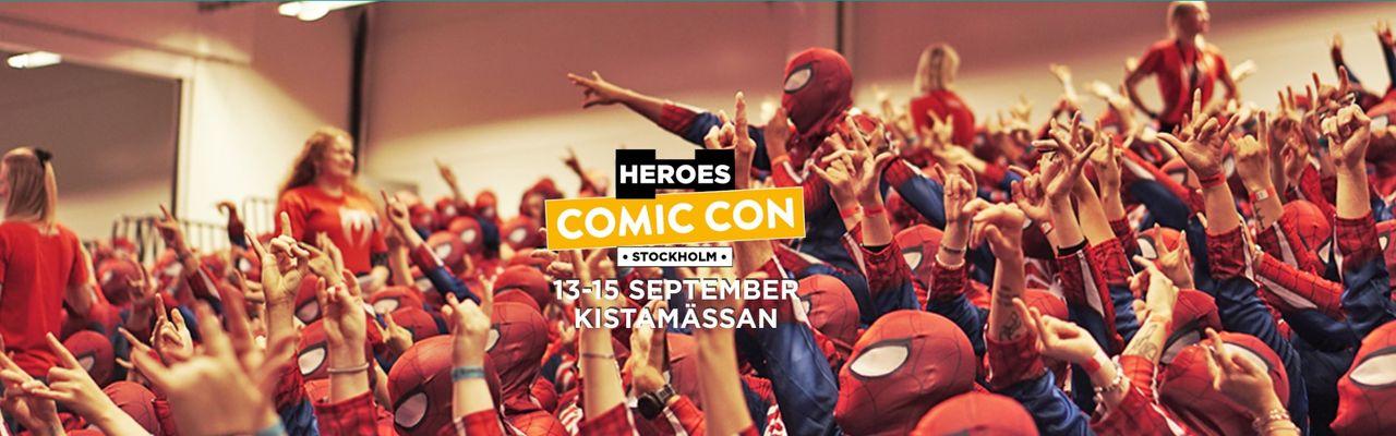 Datumen för Comic Con Stockholm spikade