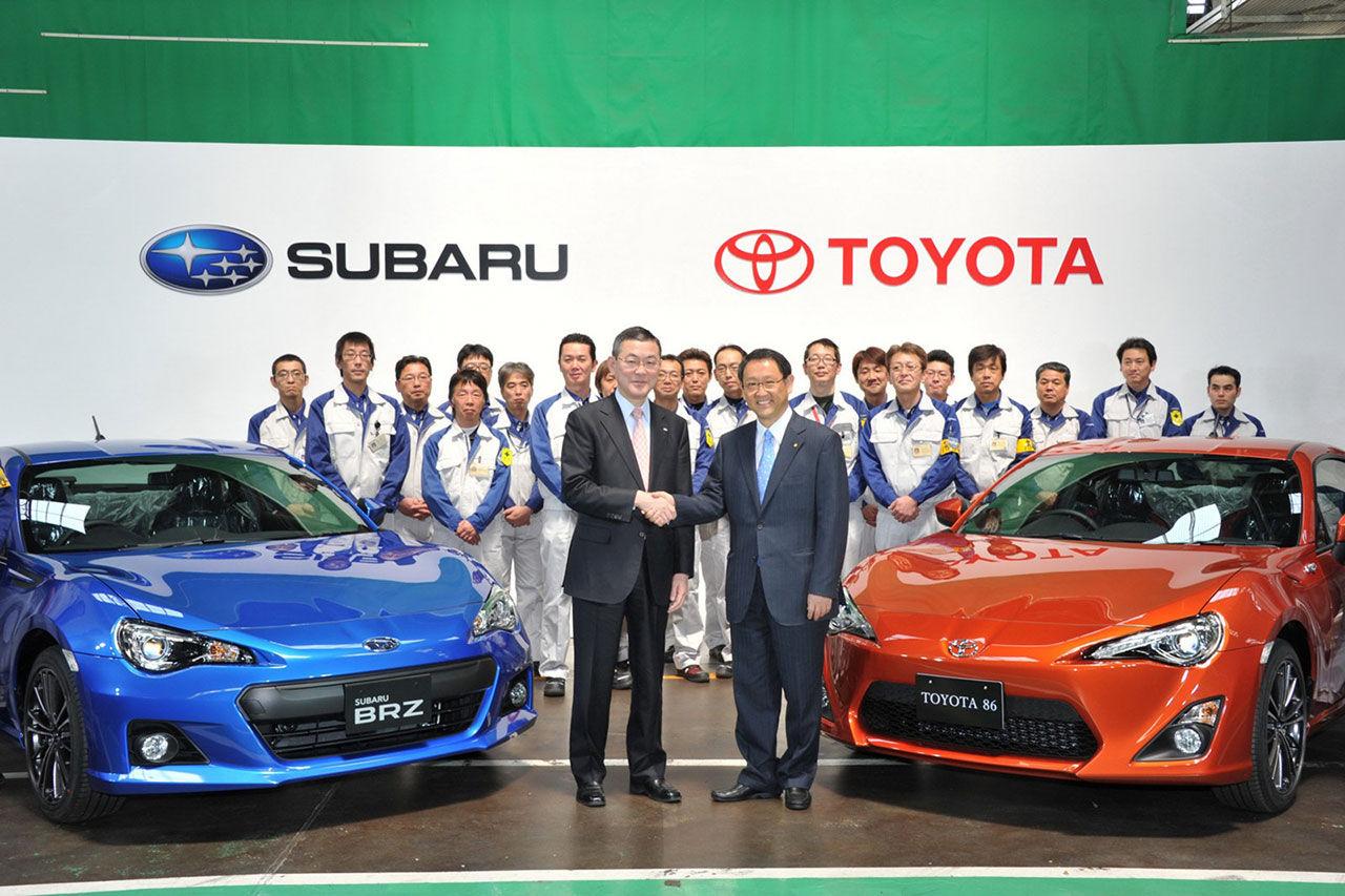Det kommer en ny generation av Subaru BRZ