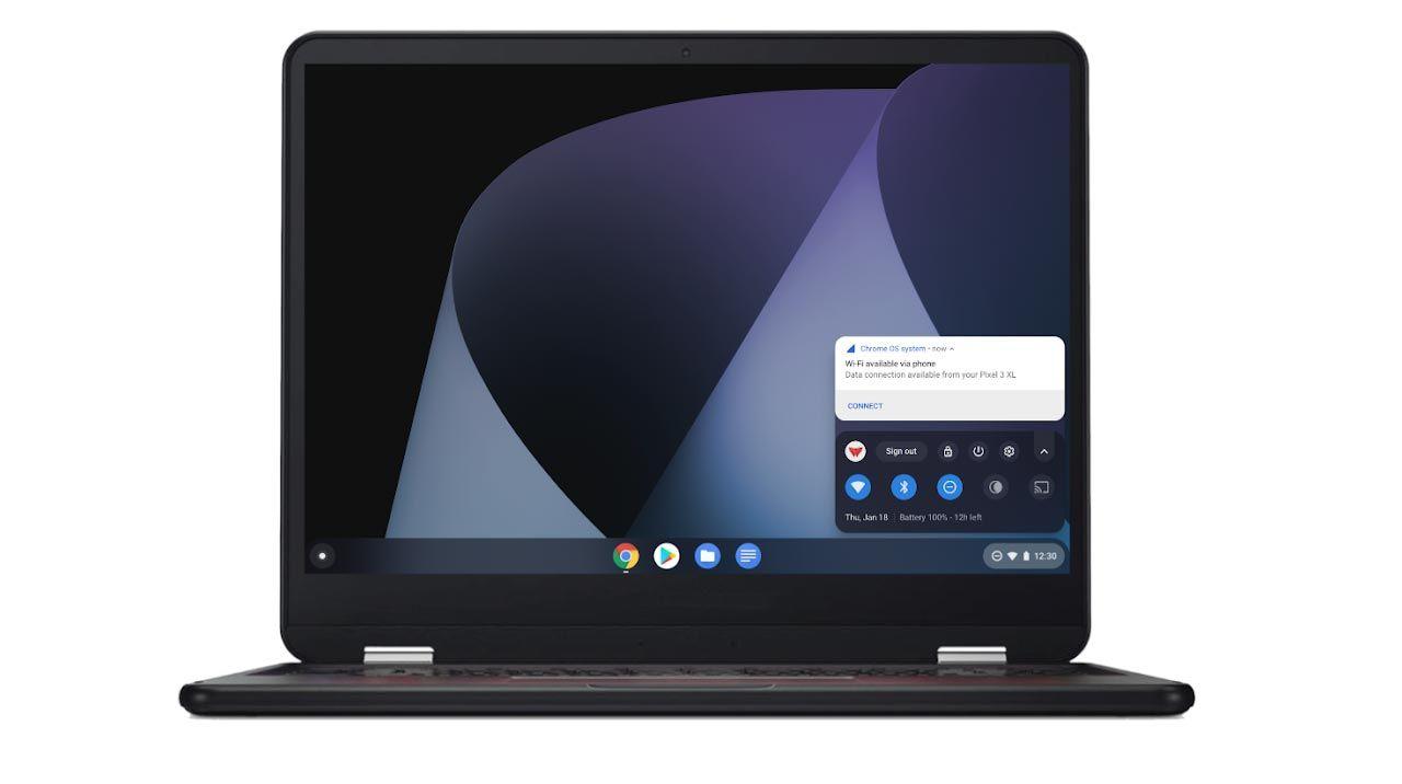 Koppla upp din Chromebook snabbare