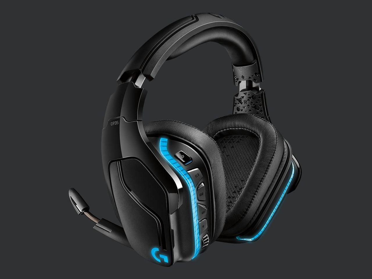 Logitech presenterar trådlösa headsetet G935