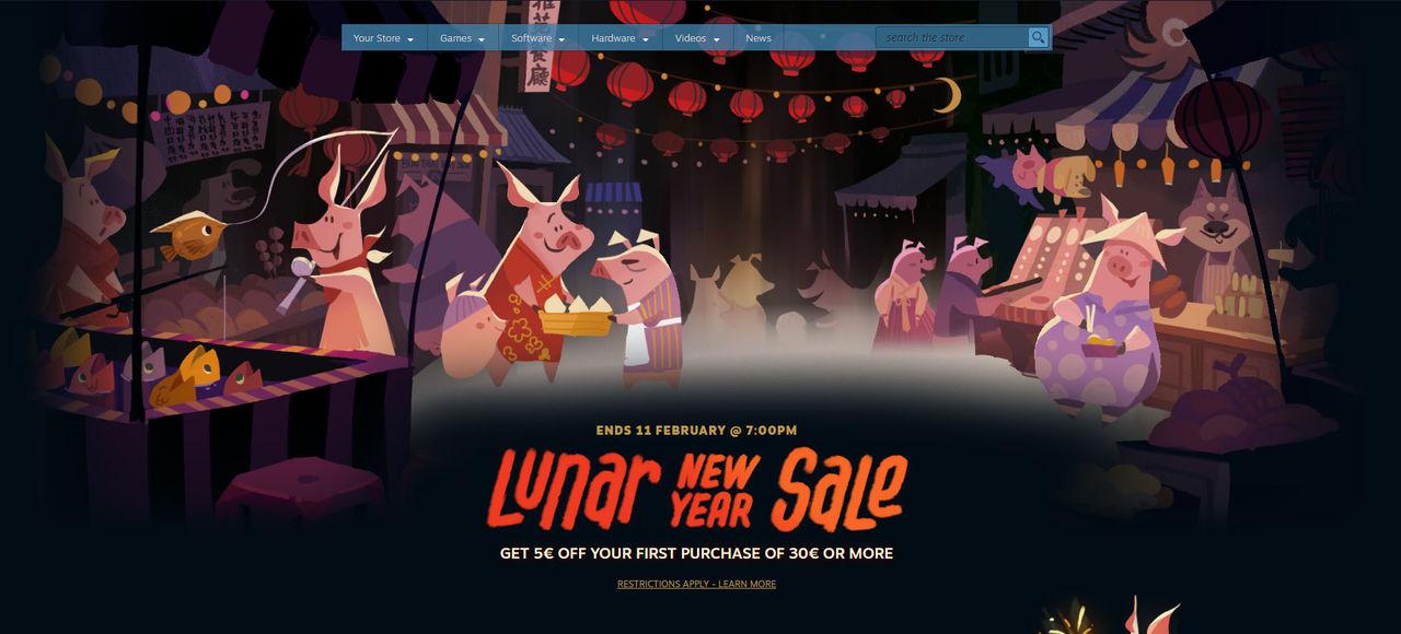 Valve firar kinesiska nyåret med Steam-rea