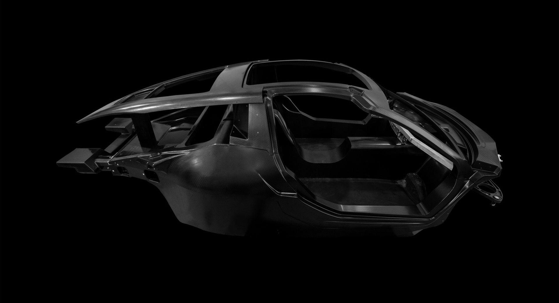 Det här är monocoquen till Hispano-Suizas nya elbil