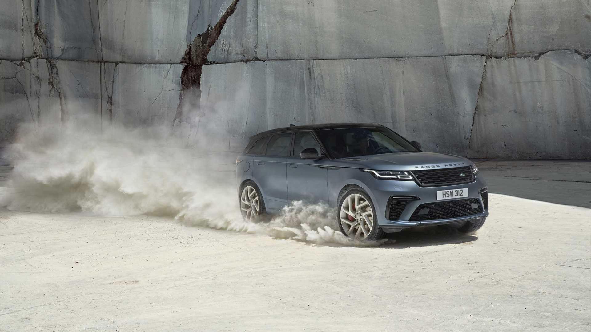 Nu finns även Range Rover Velar med 550 hästar