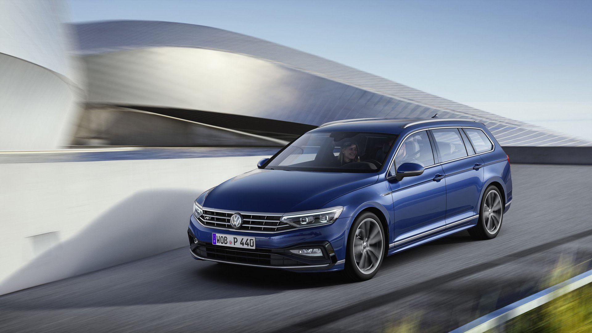 Här är Europa-versionen av uppdaterade Volkswagen Passat