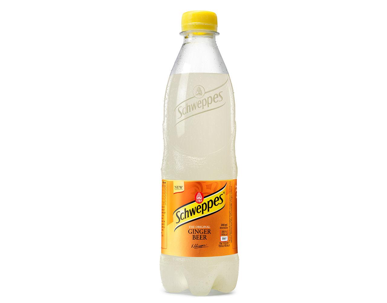 Schweppes lanserar Ginger Beer i Sverige