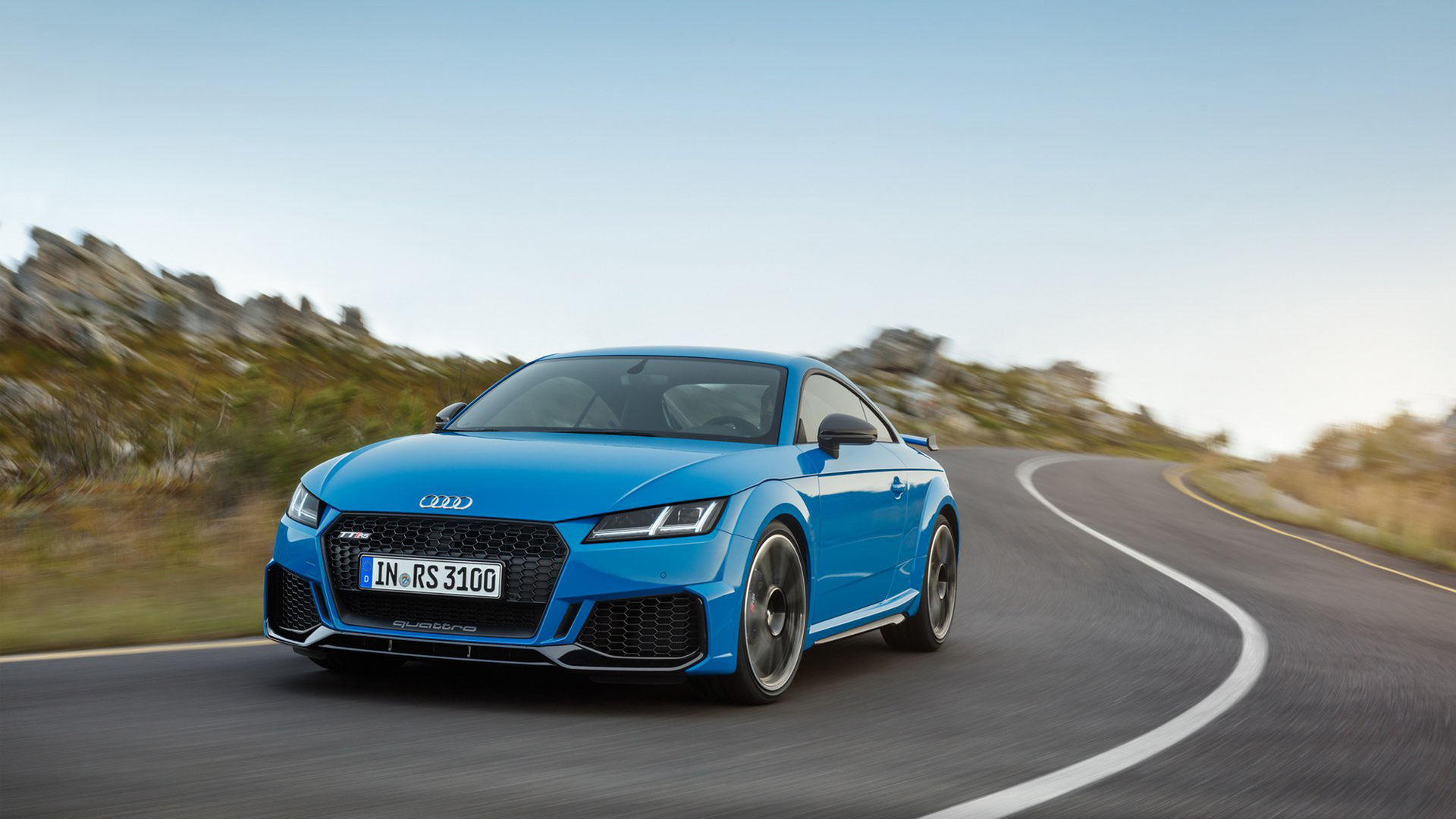 Nu har även Audi TT RS fått sig en facelift