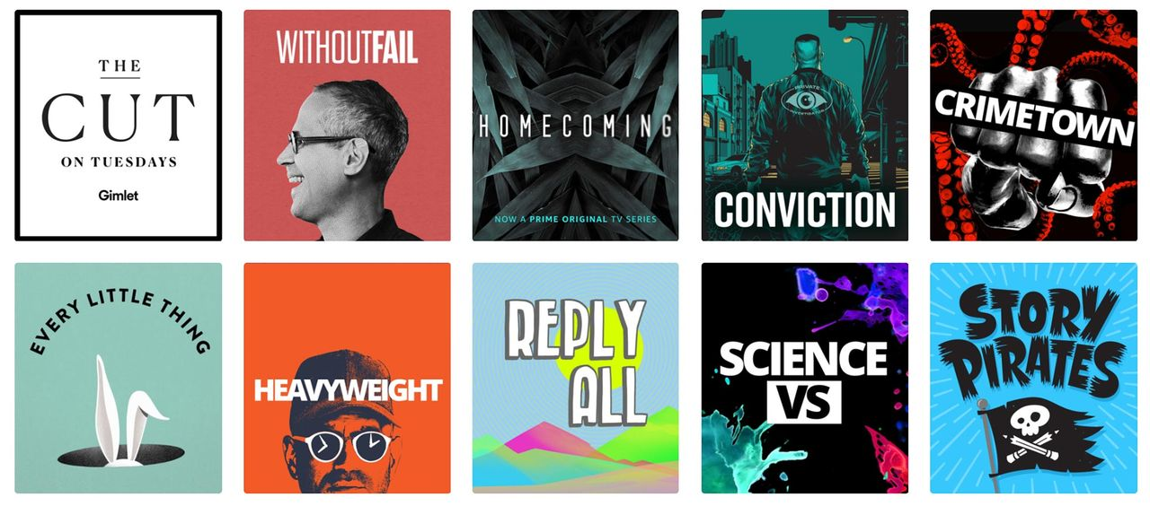 Spotify storsatsar på podcasting