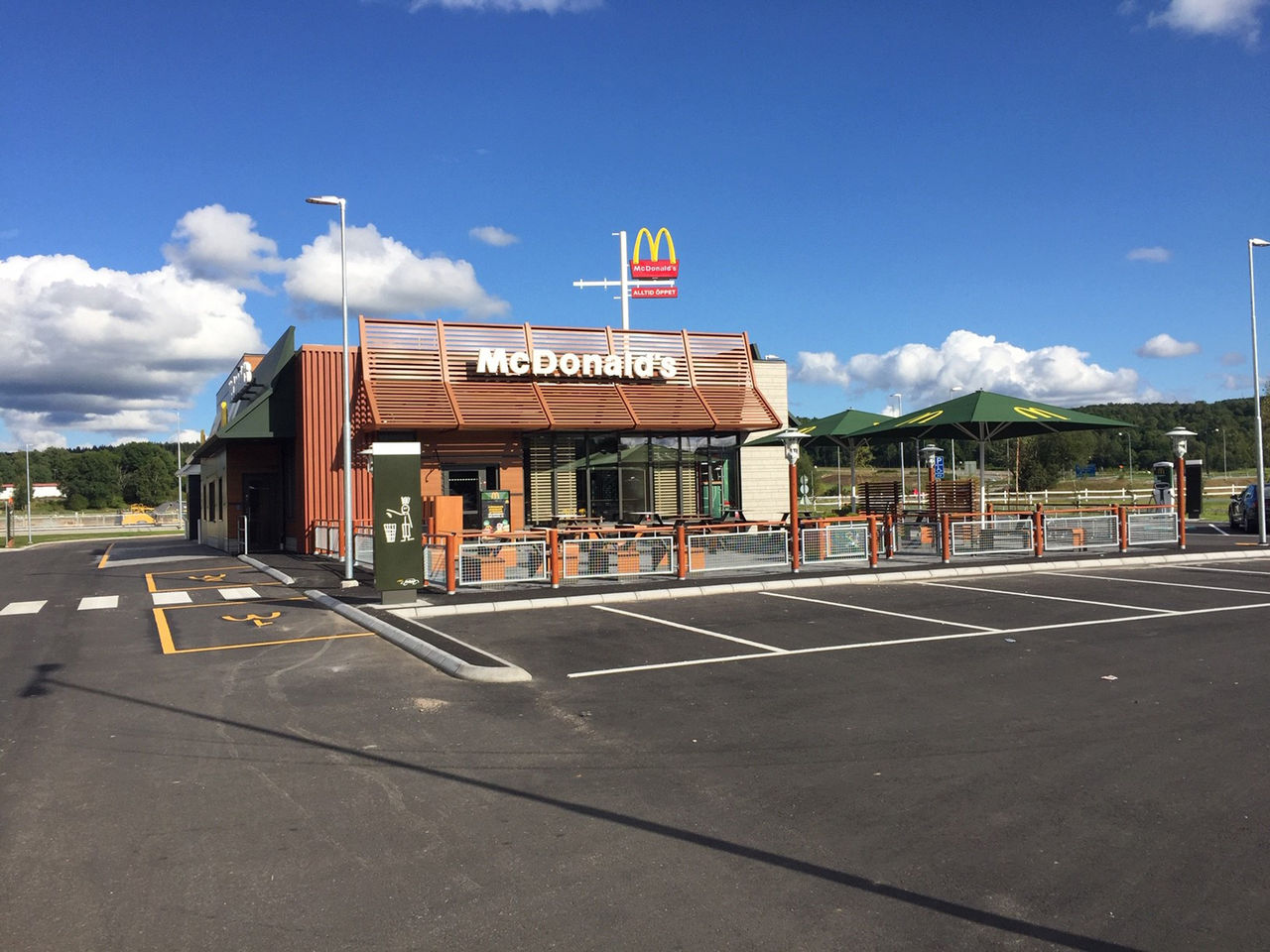 Nya McDonald's-restauranger i landet