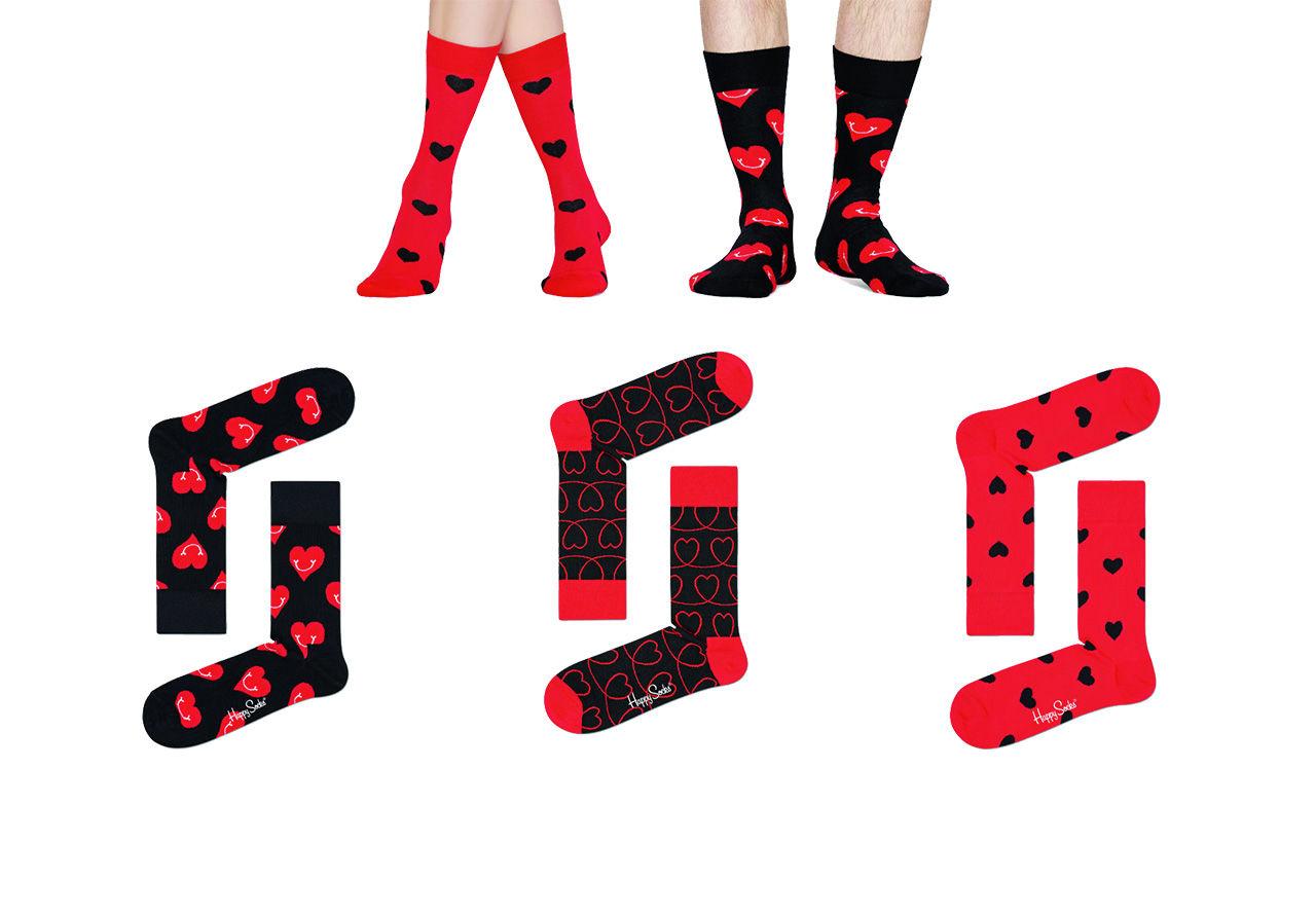 Happy Socks med hjärtan på