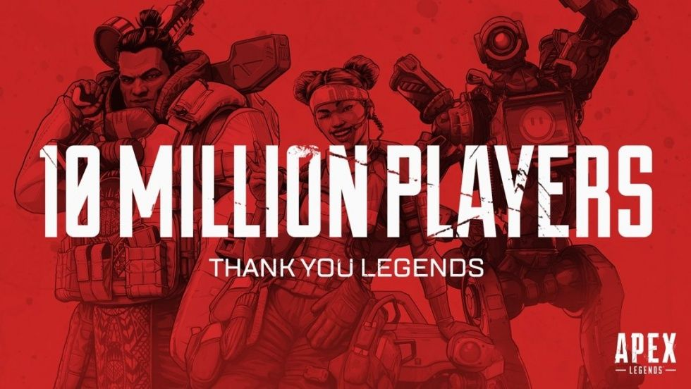 Apex Legends når tio miljoner spelare på tre dagar